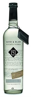 Boyd & Blair Vodka Potato 151 Proof 750ml